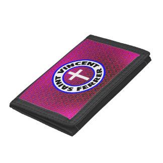 Saint Vincent Ferrer Trifold Wallet