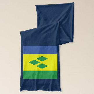 Saint Vincent Flag Lightweight Scarf