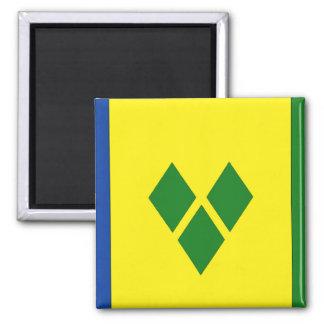 Saint Vincent Flag Fridge Magnet