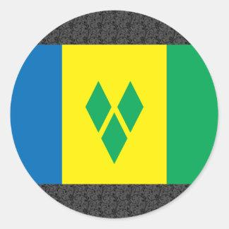Saint Vincent Flag Stickers
