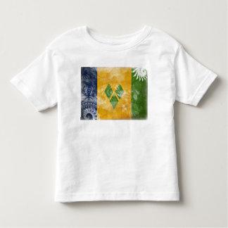 Saint Vincent Flag Toddler T-shirt