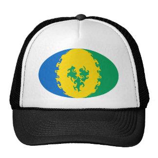 Saint Vincent Gnarly Flag Hat