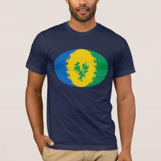 Saint Vincent Gnarly Flag T-Shirt