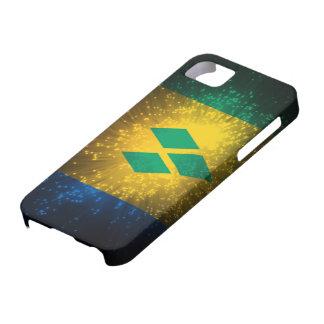 Saint Vincent; Grenadines Flag Firework iPhone 5 Cover