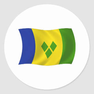 Saint Vincent Grenadines Flag Sticker
