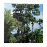 Saint Vincent Island Small Square Tile