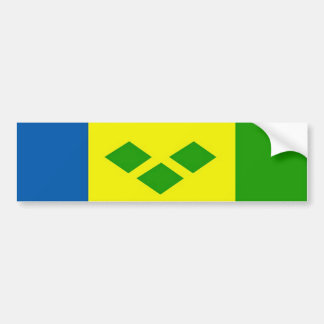 Saint Vincent & the Grenadines Bumper Sticker