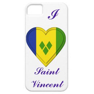 Saint Vincent & The Grenadines flag iPhone SE/5/5s Case