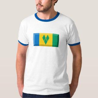 Saint Vincent & the Grenadines Flag Jewel T-Shirt