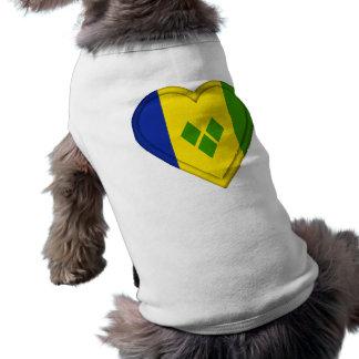Saint Vincent & The Grenadines flag Shirt
