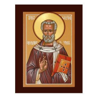 Saint Wilfred of York Prayer Card