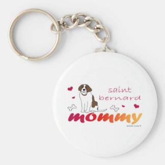 SaintBernardMommy Key Chain