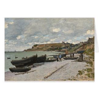 Sainte-Adresse by Claude Monet Card