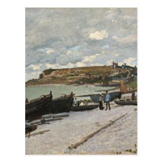 Sainte-Adresse by Claude Monet Postcard