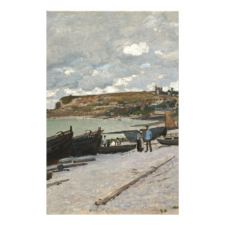 Sainte-Adresse by Claude Monet Stationery