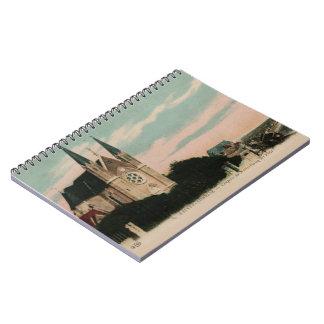 Sainte Adresse postcard design Spiral Notebook