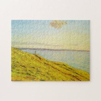 Sainte-Adresse View across Estuary Monet Fine Art Jigsaw Puzzle