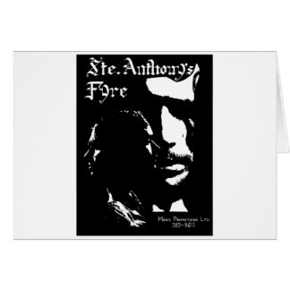Sainte Anthony's Fyre Band - 1970 Card