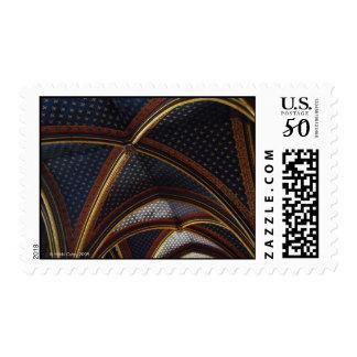 Sainte-Chapelle Ceiling Postage Stamp