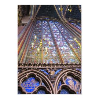 "Sainte-Chapelle - París Invitación 5"" X 7"""