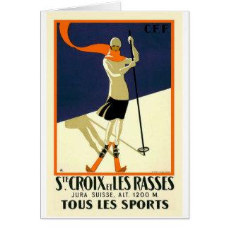 Sainte Croix Les Rasses Card