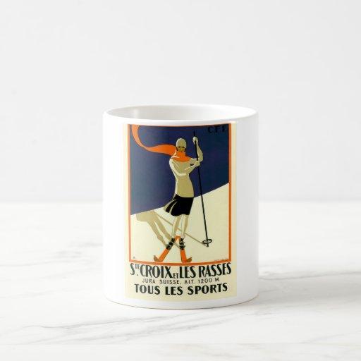 Sainte Croix Les Rasses Classic White Coffee Mug