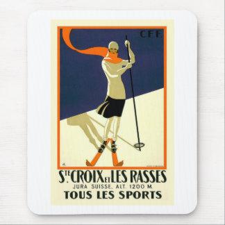 Sainte Croix Les Rasses Mouse Pad