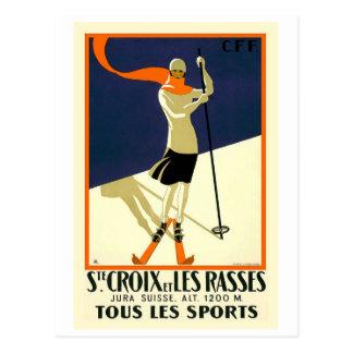 Sainte Croix Les Rasses Postcard