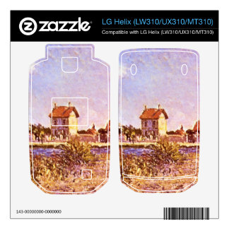 Sainte-Mammes by Alfred Sisley Decal For LG Helix
