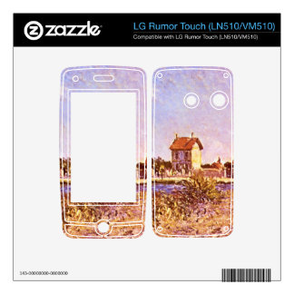 Sainte-Mammes by Alfred Sisley Skin For LG Rumor Touch