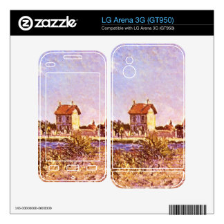 Sainte-Mammes by Alfred Sisley Decal For The LG Arena 3G