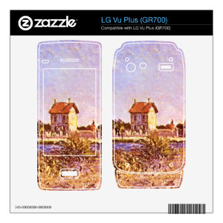 Sainte-Mammes by Alfred Sisley Skins For The LG Vu Plus