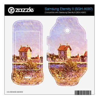 Sainte-Mammes by Alfred Sisley Samsung Eternity II Decal