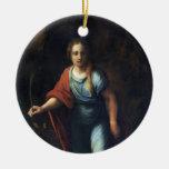 Sainte Marguerite by Raphael Christmas Ornament