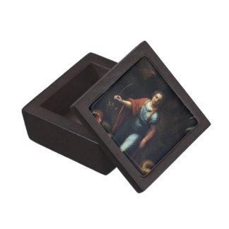 Sainte Marguerite by Raphael Premium Trinket Box