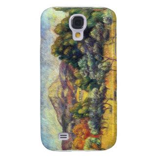 Sainte Vicoria Mountain by Pierre Renoir Galaxy S4 Case