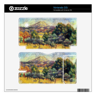 Sainte Vicoria Mountain by Pierre Renoir Skin For The Nintendo DSi
