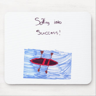 Sainting into success! mouse pad