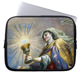 saintly cup laptop sleeve
