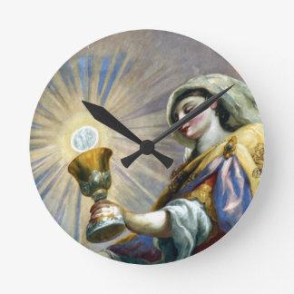 saintly cup wallclock