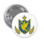 Saintly pijiyoneishiyon - St.PigeoNation's 1 Inch Round Button