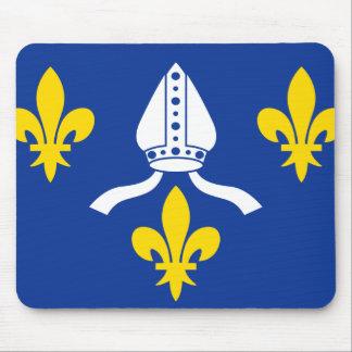 Saintonge bandera de Francia Tapetes De Raton