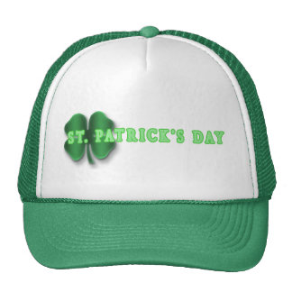 saintpat trucker hat