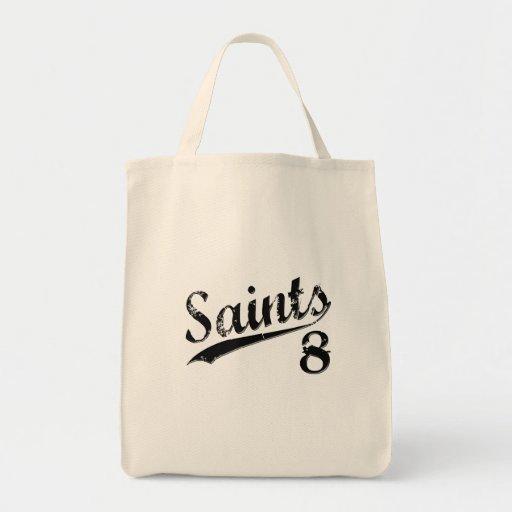 Saints 8 canvas bag