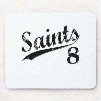 Saints 8 mouse pad