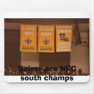Saints are NFC south champs Mouse Pad