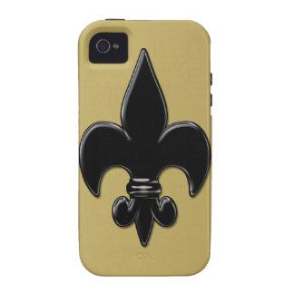 Saints Fleur De Lis iPhone 4/4S Case