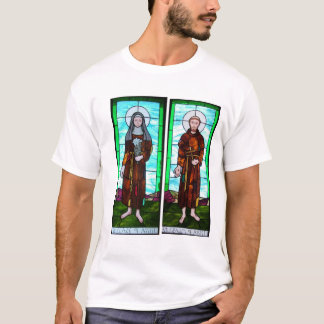Saints Francis and Clare of Assisi T-shirt