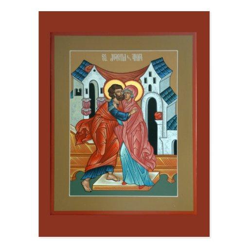 Saints Joachim and Anna Postcard