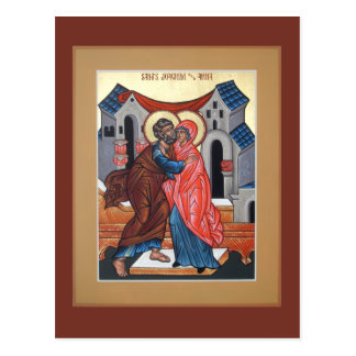 Saints Joachim and Anna Prayer Card